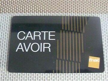 Vente: Carte Avoir FNAC (217,67€)