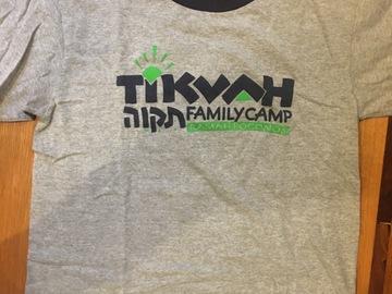 Selling A Singular Item: Tikvah family camp T-shirt