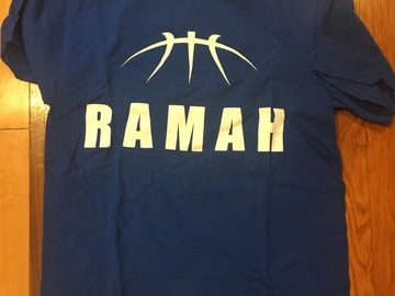 Selling A Singular Item: Ramah basketball academy T-shirt