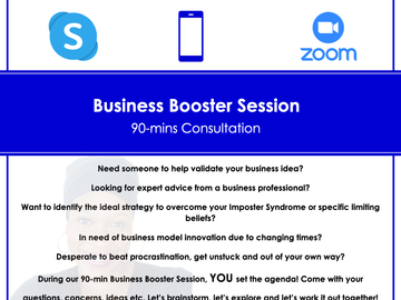 Offering-Per hour service: Business Booster Session