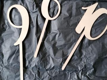 Ilmoitus: Vaneriset pöytänumerot