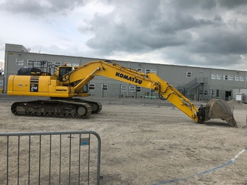 Hourly Equipment Rental: Hire of Komatsu PC210