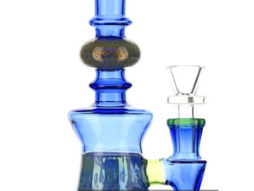 """Post Products: Icicle Bong Blue 7.5"""""""