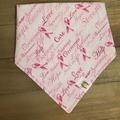 Selling: Breast Cancer pet bandana
