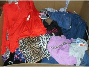 Buy Now: 600 Units of Clothing Pallets - Men's, Women's and Children's