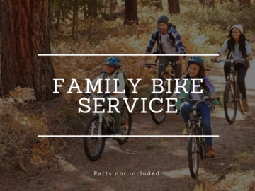 Mobile Bike Mechanic: FAMILY PACK GENERAL SERVICE