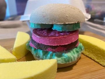 : Bath Burger&Fries Bath Bomb