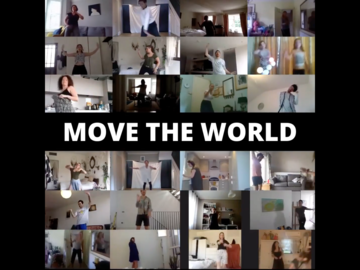 Group Session Offering: MOVE THE WORLD - Virtual Freedom Dance - August 16th / 6pm UK