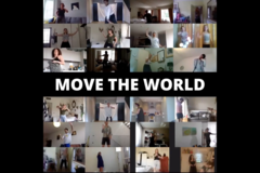 Group Session Offering: MOVE THE WORLD - Virtual Freedom Dance - SUNDAYS 10am UK Time