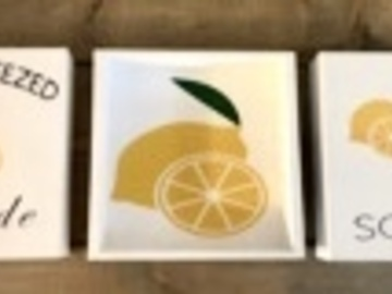 Selling with online payment: Lemon Signs