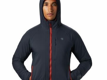 Selling with online payment: [34% off] Mountain Hardwear Kor Cirrus Hybrid Hoody M's Size M