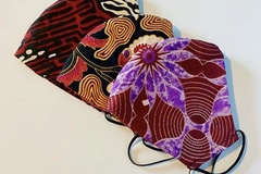 For Sale: Ankara Print Face Masks
