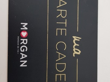Vente: Carte cadeau Morgan (200€)