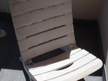 Vente: Petit fauteuil de jardin ou de plage, pliable