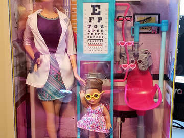 Selling with online payment: New in box Barbie Eye Doctor