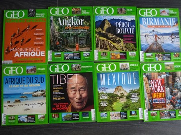 Vente: Lot de 8 magazines GEO n°3