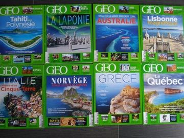 Vente: Lot de 8 magazines GEO n°2