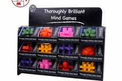 Buy Now: (72) Think IQ Wooden Brain Teaser Puzzles – Pre-Priced $9.99