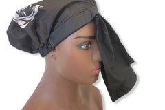 For Sale: Reusable Luxury Quick-drying polyester Waterproof soft Shower cap