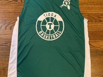 Selling multiple of the same items: Camp Tioga Basketball Jersey