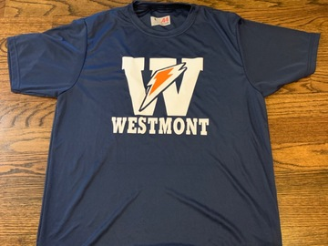 Selling multiple of the same items: Camp Westmont Blot Drifit shirt
