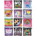 Liquidation/Wholesale Lot: Novelty Sequence Plush Pillows Assorted Styles 12pcs
