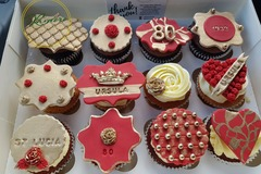 For Sale: Personalised Edible Topped Cupcakes