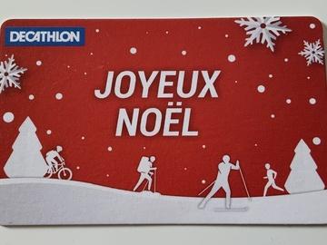Vente: E-Carte Cadeau Décathlon (150€)