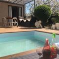 NOS JARDINS A LOUER: Terrasse et mini piscine à Montreuil