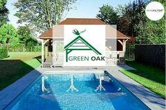 .: Green Oak | Eiken bijgebouwen en erkend Curv-verdeler