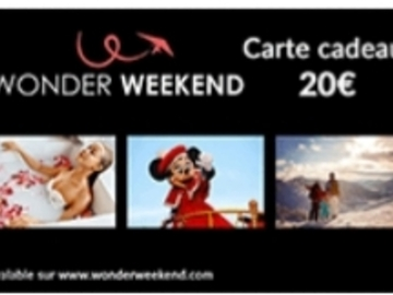 Vente: Code réduction Wonder Weekend (20€)