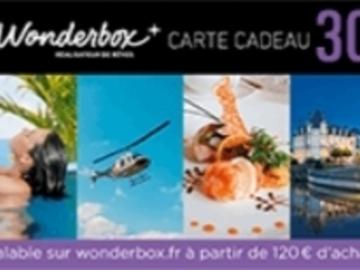 Vente: Code réduction Wonderbox (30€)