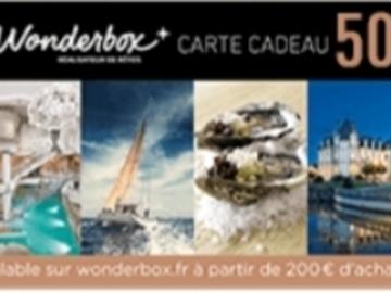 Vente: Code réduction Wonderbox (50€)