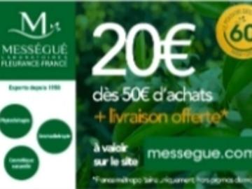 Vente: Code réduction Mességué (20€)