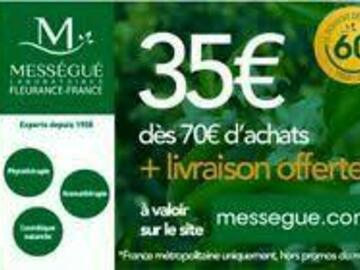 Vente: Code réduction Mességué (35€)