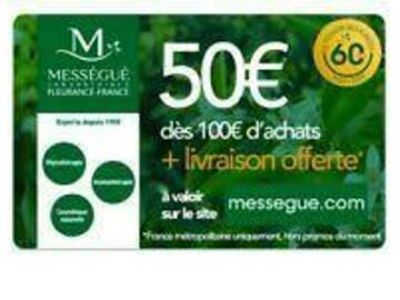 Vente: Code réduction Mességué (50€)