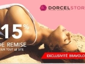 Vente: Code réduction Dorcel -15%