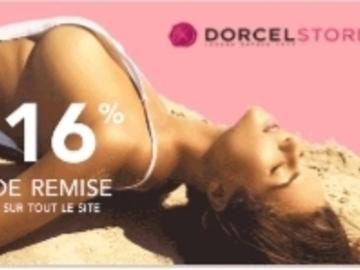 Vente: Code réduction Dorcel -16%