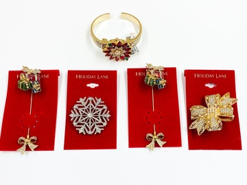 Buy Now: 70 pcs lot - Value $2065 - Holiday watches, bracelets and pins