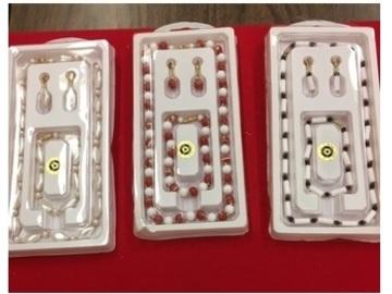 Liquidation/Wholesale Lot: 900 pcs--  Necklace; Bracelet & Earrings- $ .11 each--  $.33 set