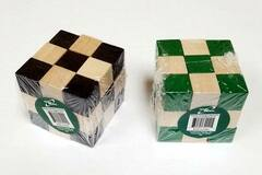 Buy Now: 3D Brain Teaser Wooden Cube Puzzle