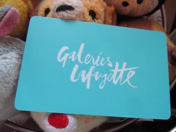Vente: Carte cadeau Galeries Lafayette (250€)