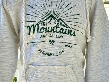 Selling A Singular Item: Camp Pinemere Hooded Swearshirt