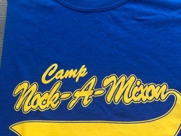 Selling A Singular Item: Camp Nock-a-mixon blue shirt