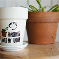 Selling with online payment: 5.5 by 4.5 Specialty Made Flower Pots