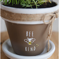 """Selling with online payment: 4.25"""" x 4.25"""" Specialty Made Flower Pots"""