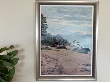 """: """"Sam Pak Wan Beach"""". Print. Hong Kong"""