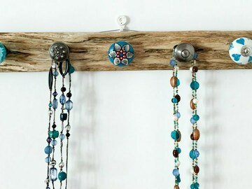 : Driftwood Necklace Hanger - The Branch