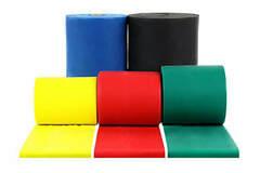 SALE: CanDo Sup-R-Band Latex-Free 50-yard Exercise Band-Green