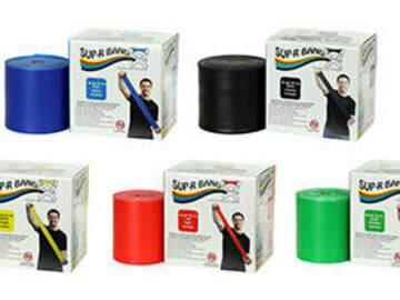 SALE: CanDo Sup-R-Band Latex-Free 50-yard Exercise Band-Yellow